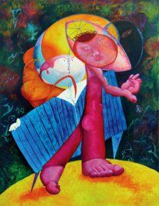 Dreams & Promises (oil on linen), by David Derr