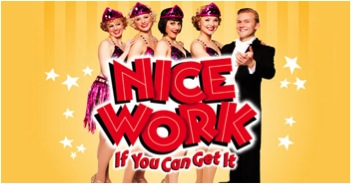 Straight from Broadway: NATIONAL COUNCIL OF JEWISH WOMEN, WEST MORRIS SECTION SPONSORED FUND-RAISING OUTING–'NICE WORK IF YOU CAN GET IT'