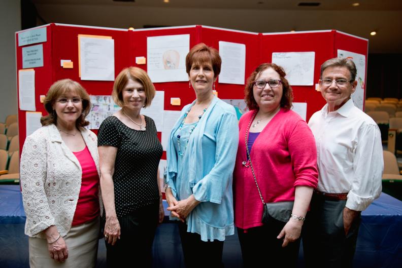 Judy, Melanie, Lois, Rhonda, Alan