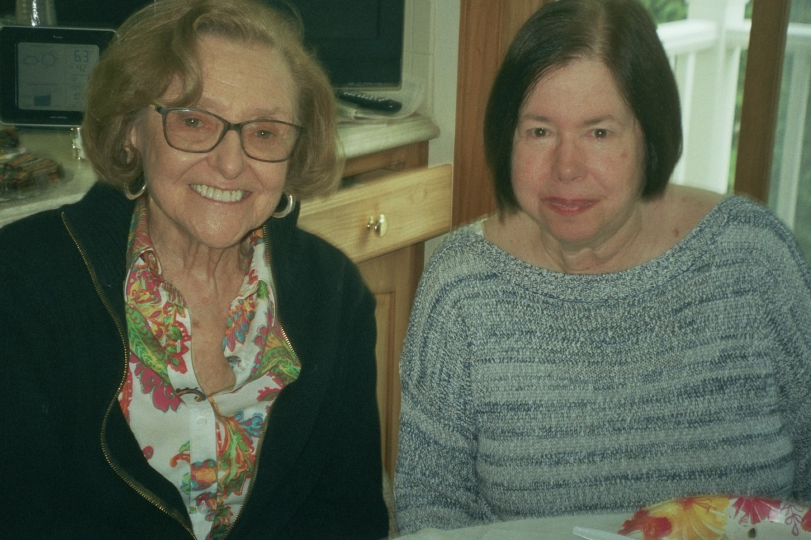 Joan Farber and Joy Buchfirer.