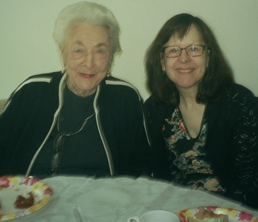 Miriam Willinger and Lisa Barta.