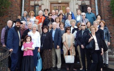 Our Section Experiences Fascinating Day at Ohel and Crown Heights