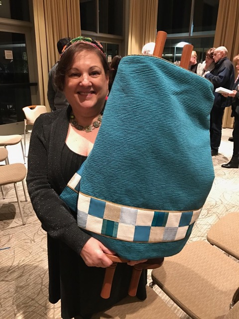 Female Torah Scribe Shares Secrets of Her Art with Our Personal Giving Donors